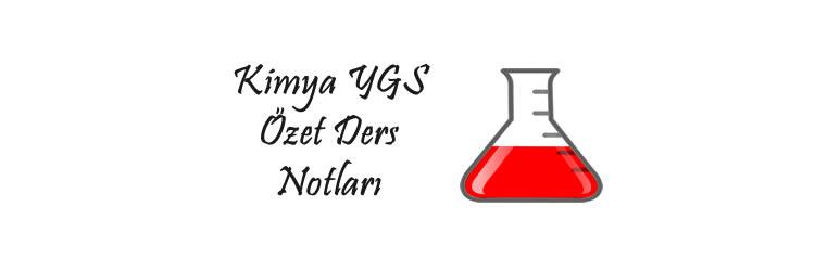 Kimya YGS Özet