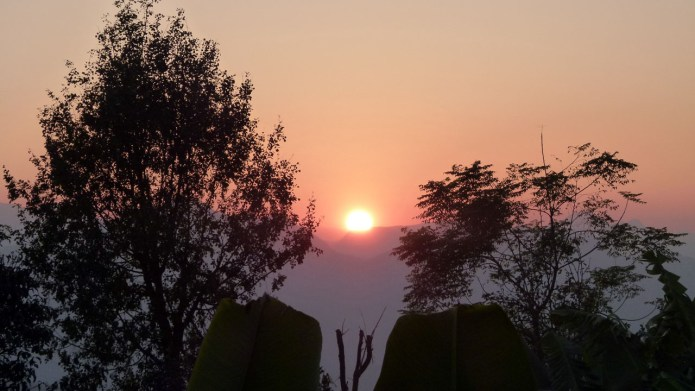 Gorkha sunset