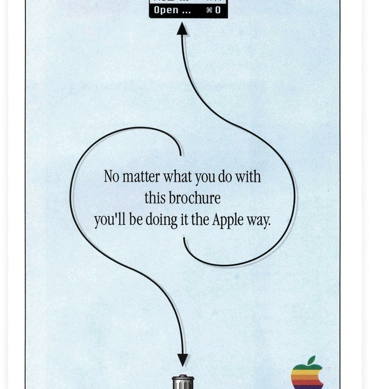 Brochure 1993 d'Apple : the Apple way