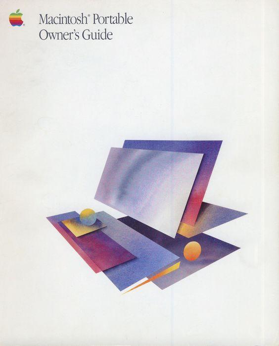 Le manuel utilisateur du Macintosh Portable