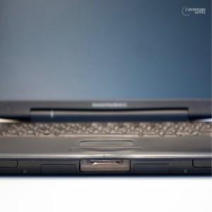 La face avant du PowerBook G3 Lombard