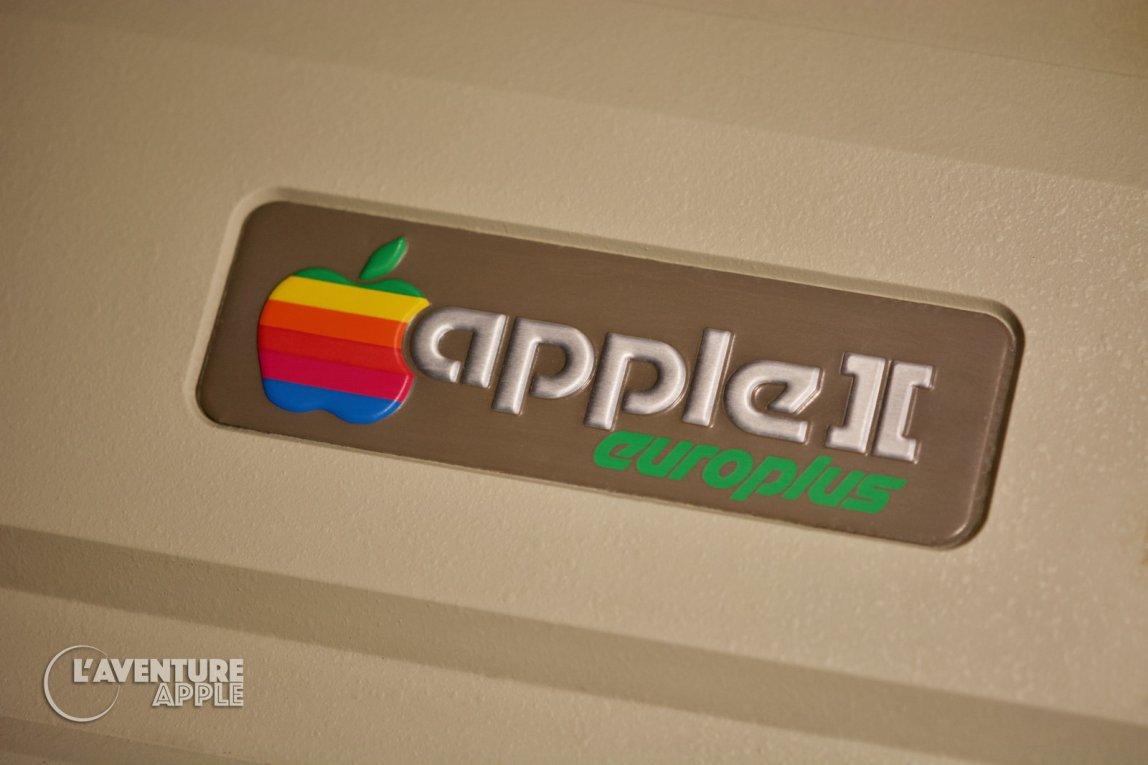 Apple II europlus close-up