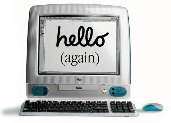 Hello Again iMac 1998
