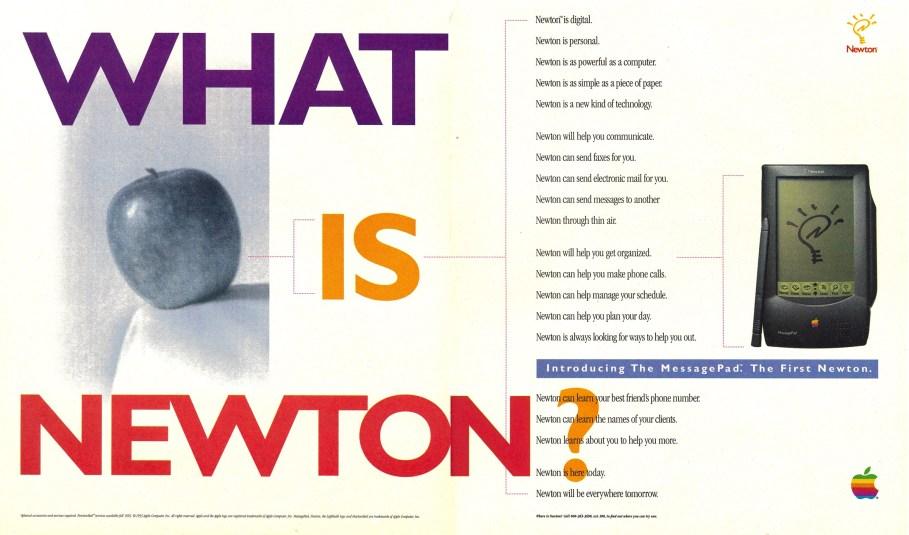 Publicité What is Newton