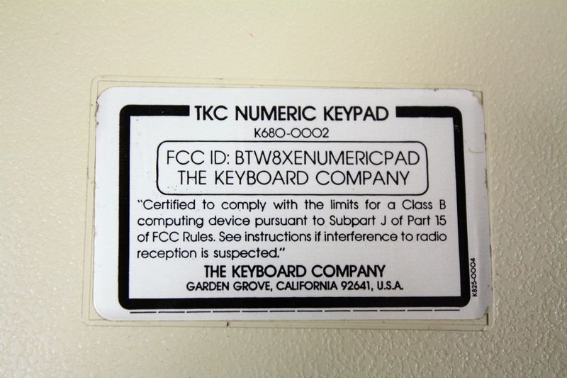 Apple II numeric Keypad par The Keyboard Company