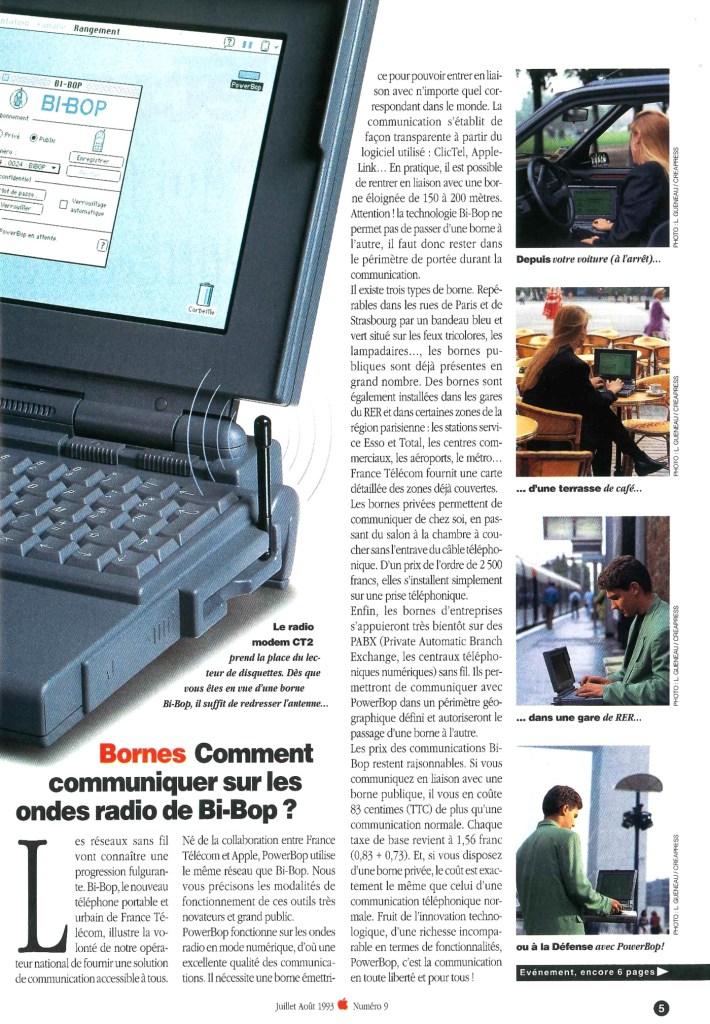 Apple le Magazine 1993, PowerBop