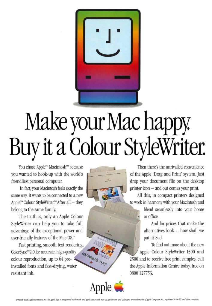 Apple Colour StyleWriter