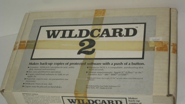 WildCard pour Apple II