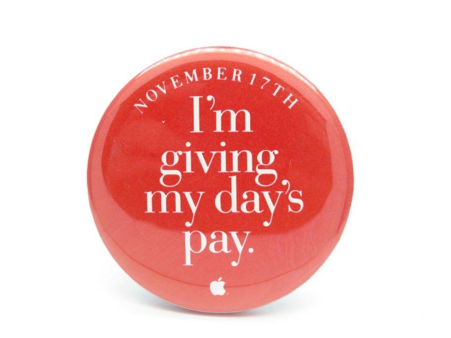 Apple badge giving pay 17th november