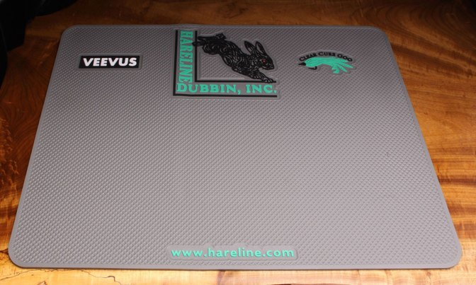 Hareline Dubbin Inc fly tying pad product review