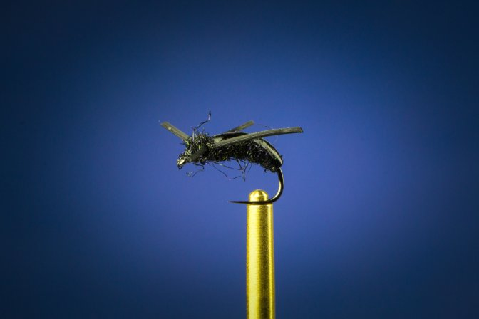 Learn how to tie the Water Boatman fly with video