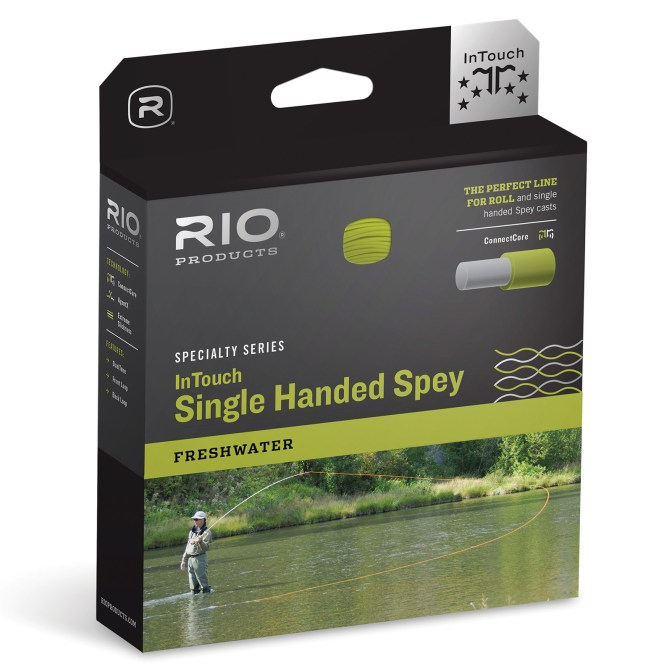 RIO InTouch Single Hand Spey Fly Fishing Line review