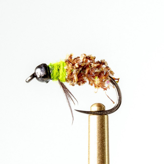 Learn how to the the Cactus Cased Caddis - Fly tying video tutorial