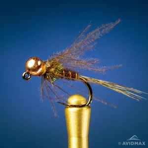 Jigged CDC Soft Hackle Pheasant Tail