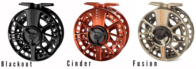 Waterworks-Lamson Litespeed G5 Fly Reels | Blackout + Cinder + Fusion