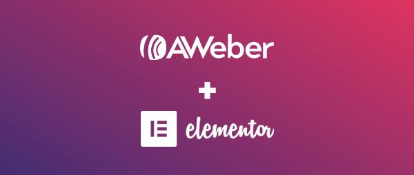 AWeber and Elementor