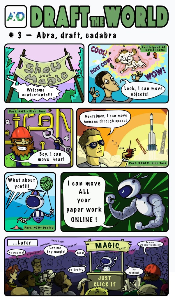 Draft the World 3 - Abra draft cadabra comics