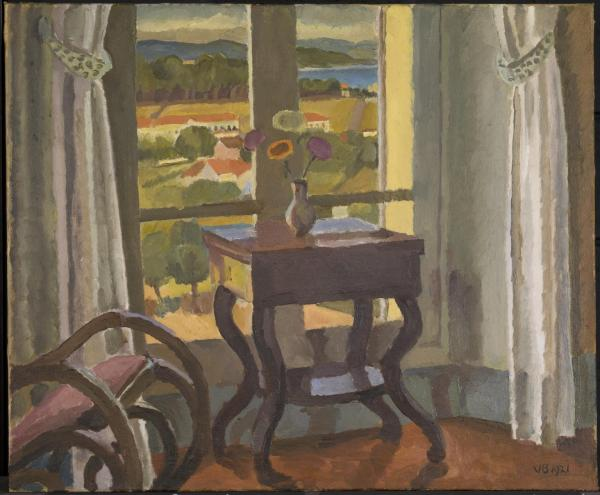 Vanessa Bell Interior with a Table