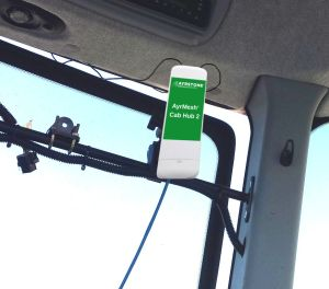 Cab Hub mounted in cab