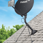 Satellite Internet dish