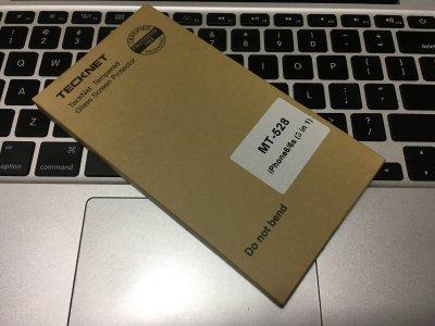 iPhone 6にガラスフィルム装着。Amazonの安いやつ(TeckNet)、侮りがたし。