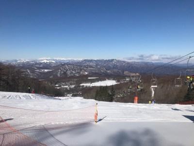 白樺高原国際スキー場の旅。シーズン最高のコンディションで練習、練習。