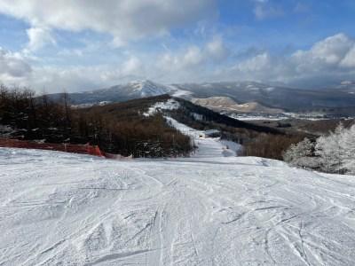 しらかば2in1スキー場の旅。シーズン初の中央道スキーはちょっとハズした話。