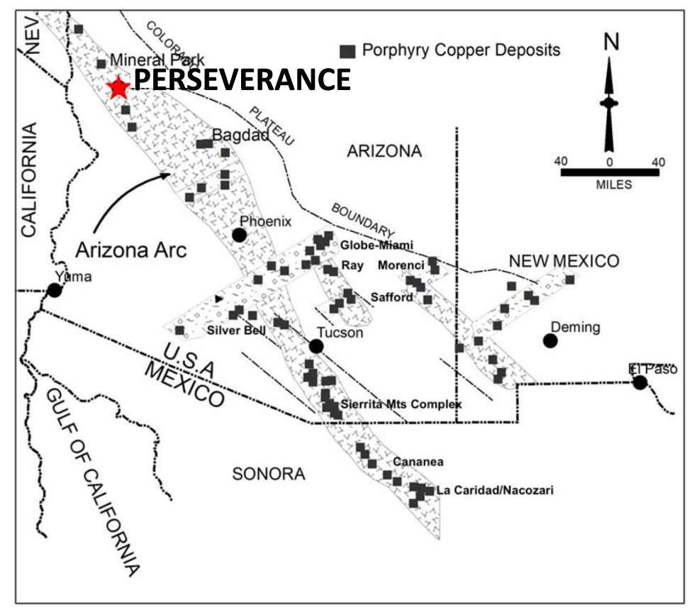 Bell Copper's Perseverance Copper Porphyry Project