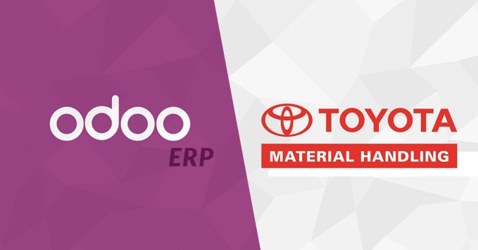Toyota Odoo ERP system user