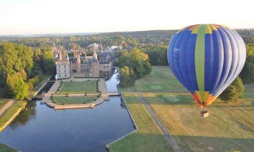 evjf paris - montgolfière