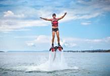 Flyboard activité insolite marseille