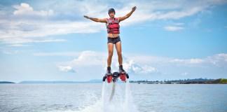 Flyboard activité insolite à nantes