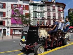EVG au pays basque beer bike