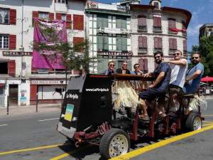 EVG au pays basque beer bike