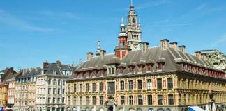 activité insolite à Lille grand place vieille Bourse