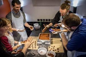 atelier chocolat - Edwart - Team building noël
