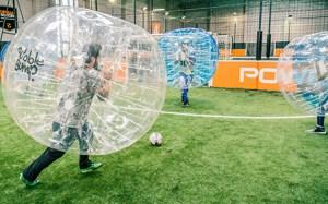 Bubble foot activité insolite à Grenoble