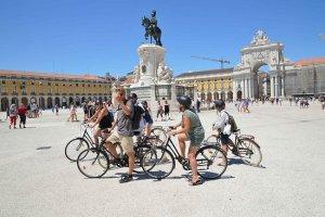 Lisbonne à vélo - activité insolite à Lisbonne