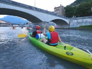 Canoë à Grenoble activité insolite Grenoble