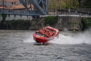 Speed boat - activité insolite à Porto