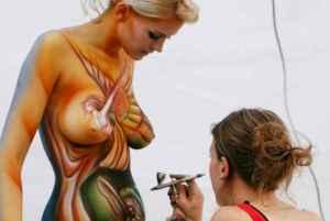 Body painting - Activité insolite à Porto