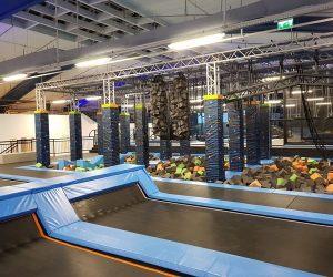 trampoline park - Activité insolite à Budapest