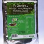 Organic Moringa Powder in food certified zip bags