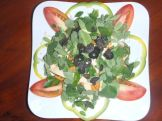 Moringa fresh salad