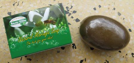 Moringa Oleifera Soap reducing bacterial contamination.