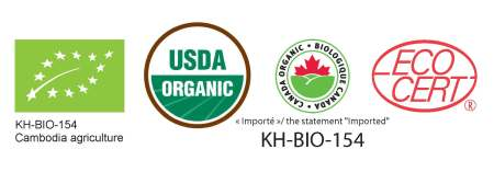 Organic certified for EUR/USDA/NOP
