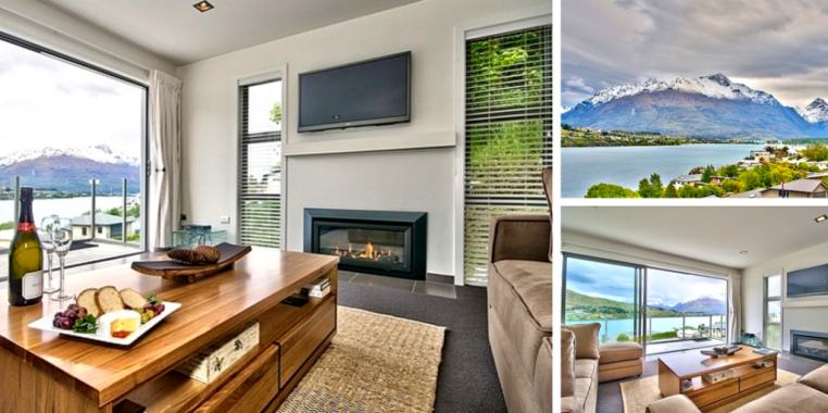 Lake Views on De La Mere, Queenstown Holiday Apartment
