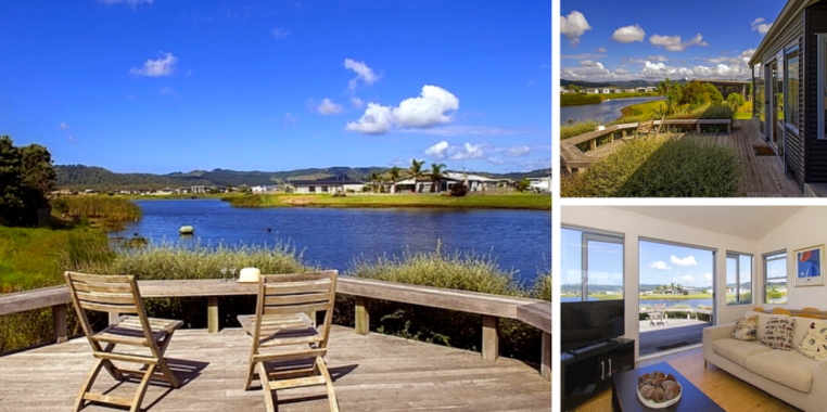 Golfers Lake Retreat, Matarangi brand new holiday home