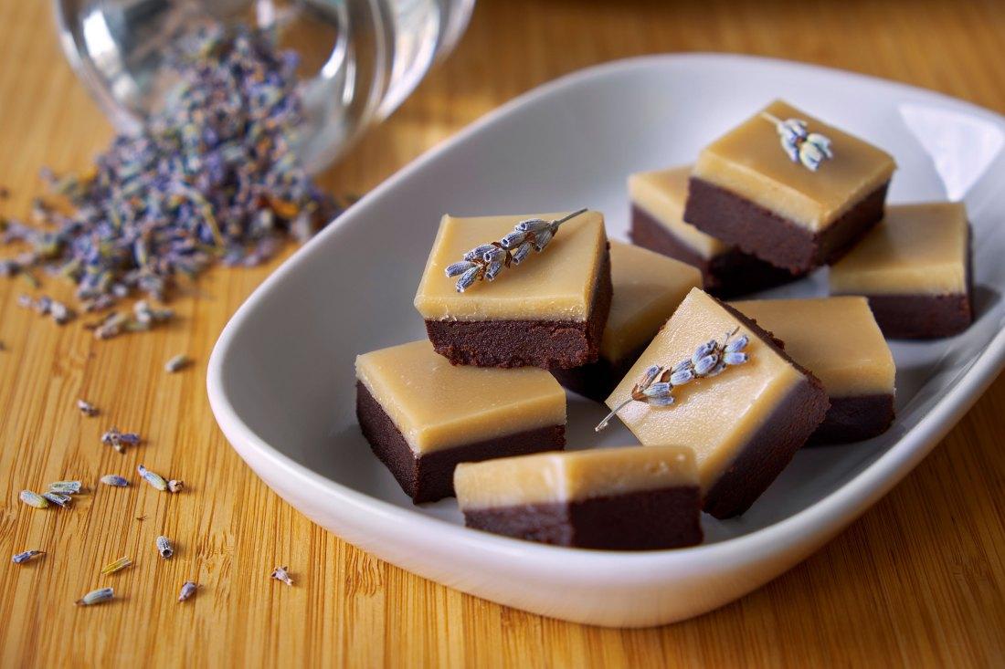 Chocolate Lavender Fudge 1