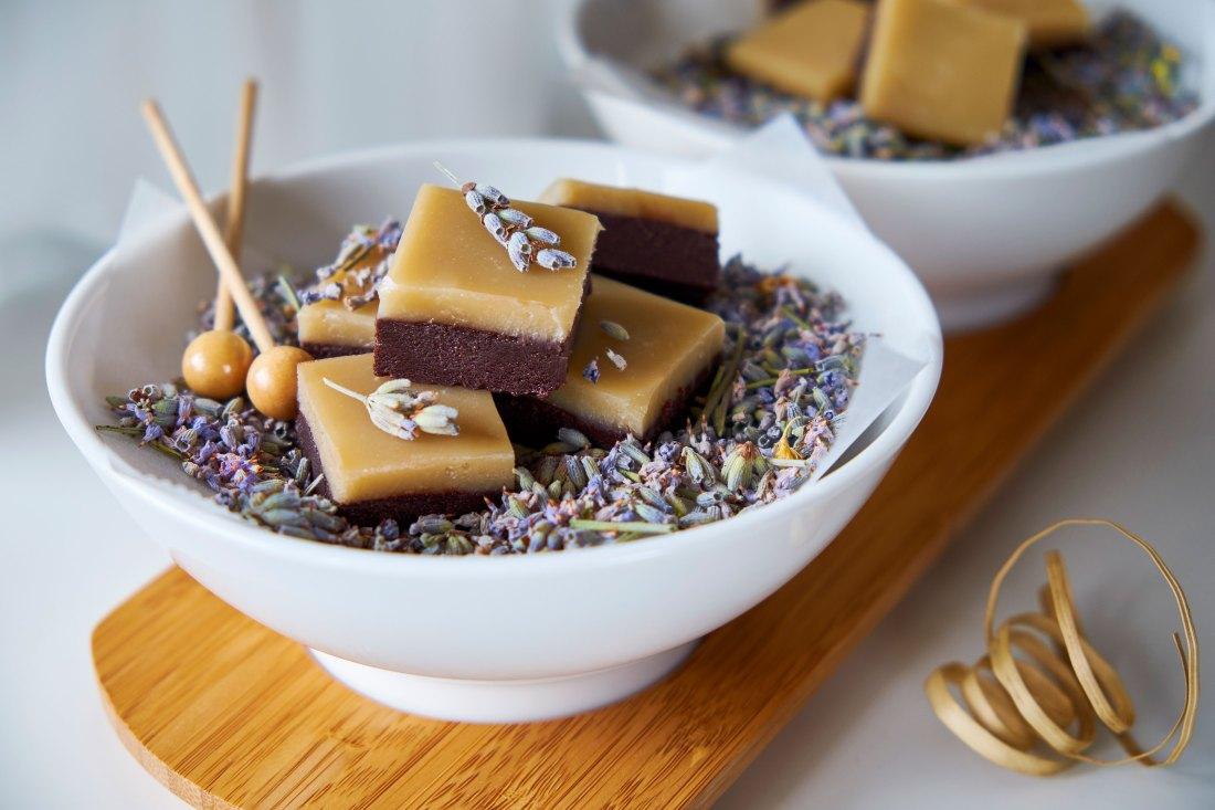 Chocolate Lavender Fudge 2